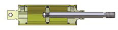 Allenair Cylinder - TYPE A SINGLE ENDED