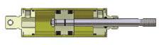 Allenair Cylinder - TYPE C SINGLE ENDED