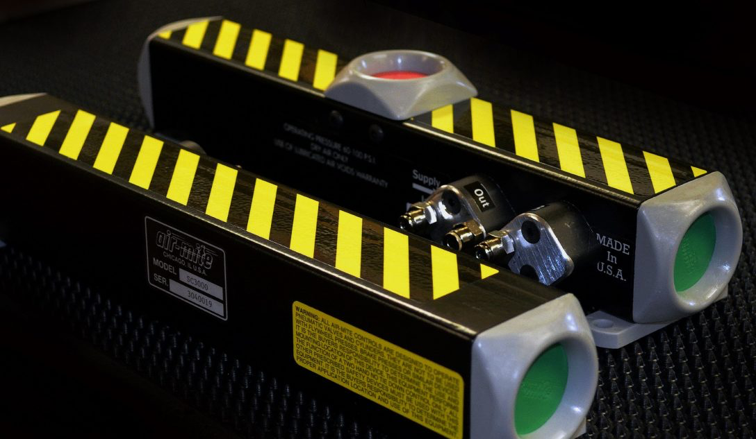 Air-Mite Safety Controls