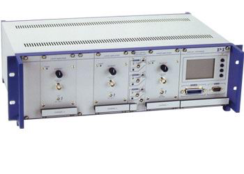 Physik Instrument E-500 Modular Piezo Motion Controller System, up to 6 Channels, for Low Voltage and High Voltage Piezo Systems