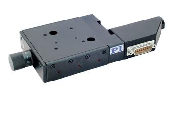Physik Instrument M-126 Translation Stages with Crossed Roller Bearings