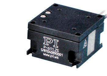 Physik Instrument P-611.ZS · P-611.XZS Compact Z and XZ Piezoelectric Nanopositioning Systems