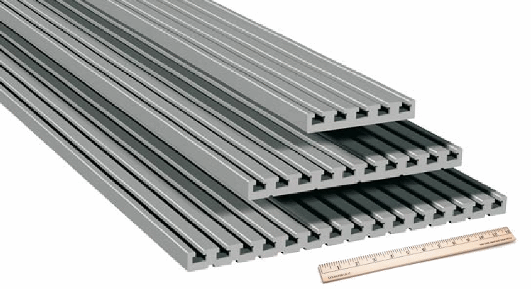 Isel Automation Aluminum Extrusion Table Plates