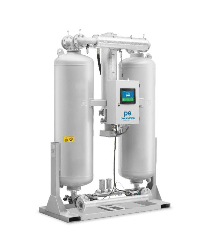 Pneumatech PE Series - Heated Purge Desiccant Dryers