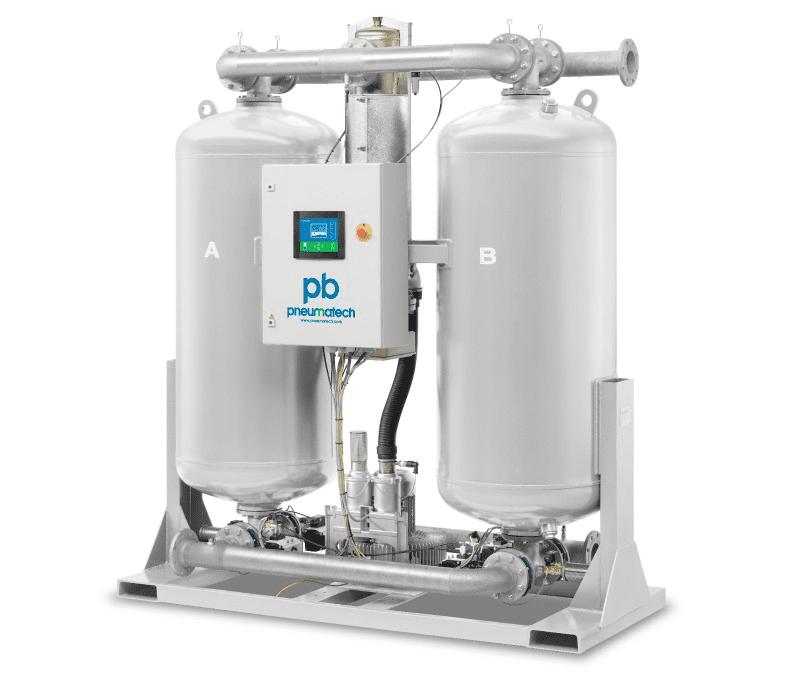 Pneumatech PB Series - Zero Purge Desiccant Dryers