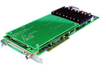 Physik Instrument E-761 3-Channel Digital Piezo Motion Controller for Nanopositioning in PCI-Board Format