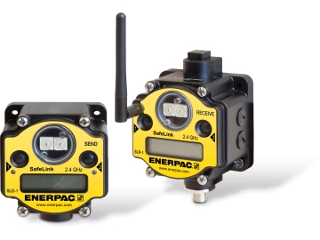 Enerpac Safe Link Pressure and Position Monitoring