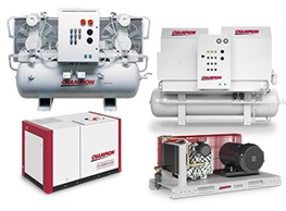 Champion Pneumatic Oil-Less/Oil-Free Compressors