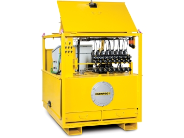 Enerpac Controlled Lifting Pumps