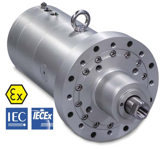 Tolomatic ServoChoke® SVC Electric Choke Valve Actuator / Operator