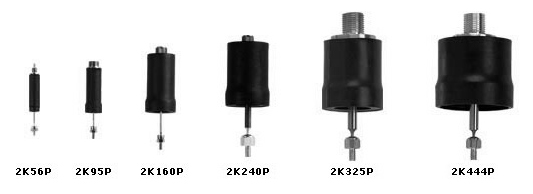 Airpot Self-Aligning Actuators