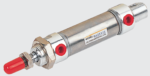 STC Valve MA Series Stainless Steel Round Cylinder