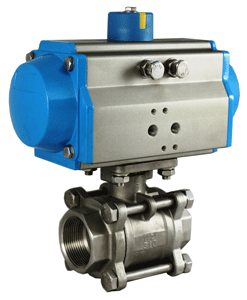 STC Valve Air Actuated Valves