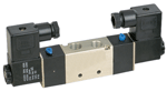 STC Three Way, Two Position, Double Solenoid Valves