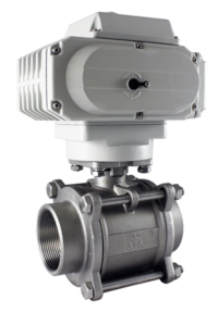 STC 2 Way Valve with Actuator with On/Off Indicator