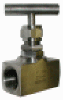 STC Stainless Steel Needle Valve, with Panel Mount