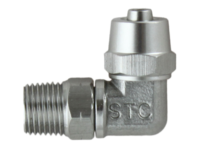 STC Male Elbow Swivel Connector