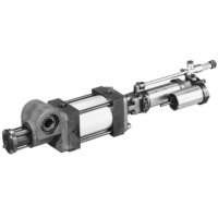 Parker - Pneumatic Rotary Actuator - B671/F672 Series