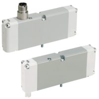 Parker - Pneumatic Solenoid ISO Valve - H Series ISO 15407-1 & 15407-2 Series