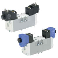 Parker - Pneumatic Solenoid ISO Valve - H Series ISO 5599-1 & 5599-2 Series