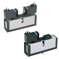 Parker - Pneumatic Solenoid ISO Valve - DX ISOMAX 15407-1 Series