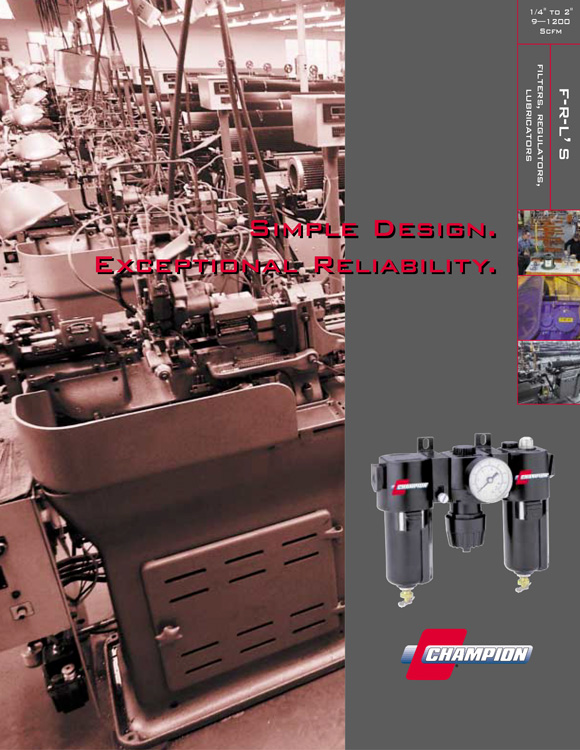 Champion Pneumatic Particulate Filters Catalog