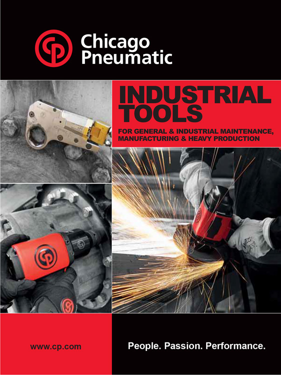 Chicago Pneumatic Industrial Tools Catalog