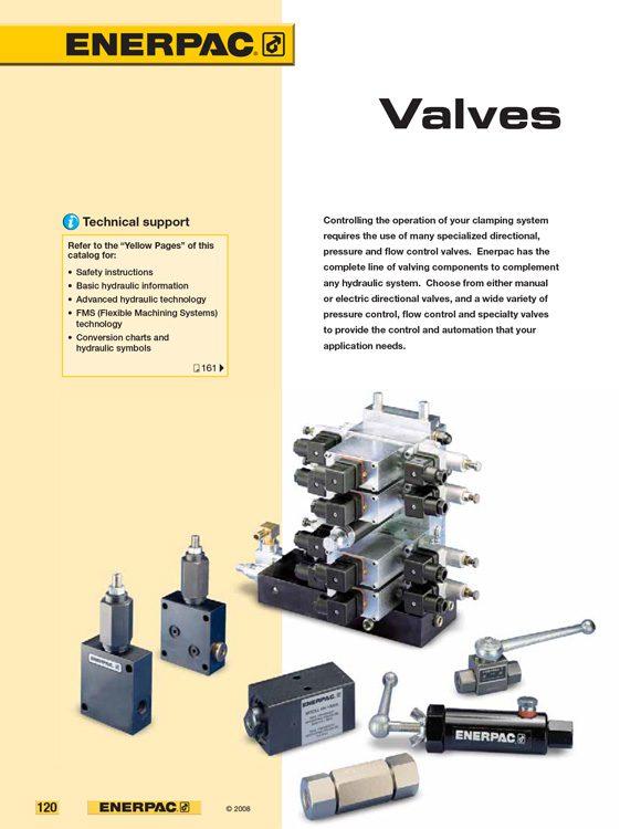 Enerpac Valves Catalog