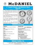 McDaniel Controls-Q3 Liquid Fillable Stainless Steel Utility Gauge Brochure