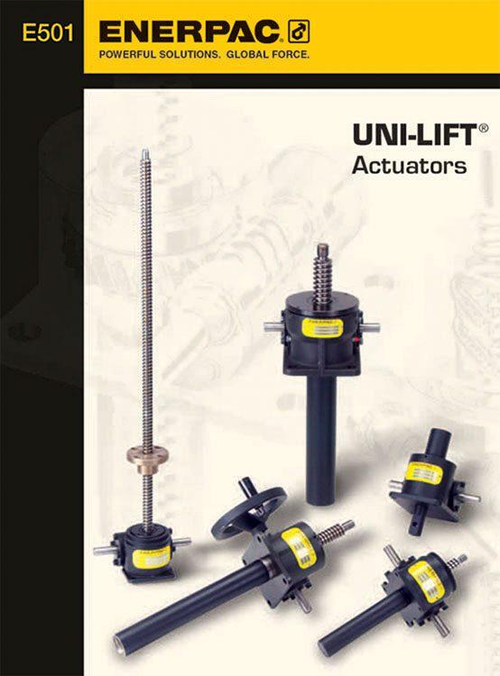 Enerpac Unilift Actuators Catalog