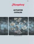 Humphrey Actuators Catalog