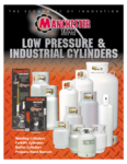Manchester Tank Low Pressure & Industrial Cylinders Catalog