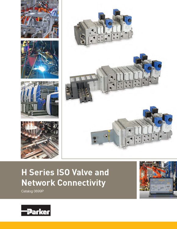 Parker-H Series ISO Valve & Network Connectivity Catalog