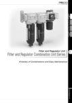 Pisco-Filter Regulator Combo Unit Catalog