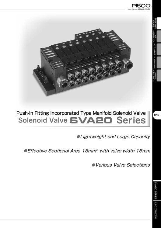 Pisco-Solenoid Valve SVA20 Catalog
