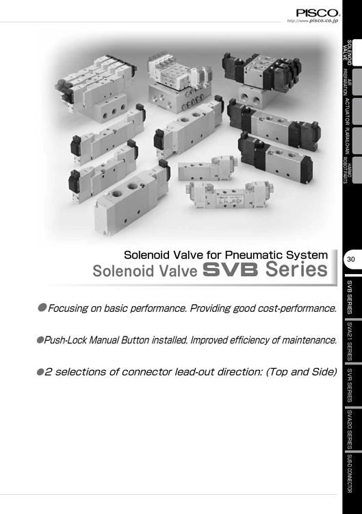 Pisco-Solenoid Valve SVB Catalog