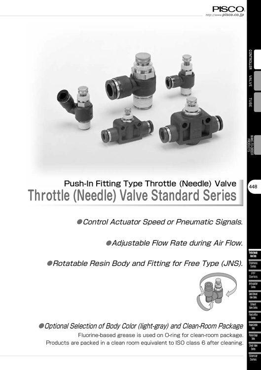 Pisco-Throttle Valve Standard Catalog