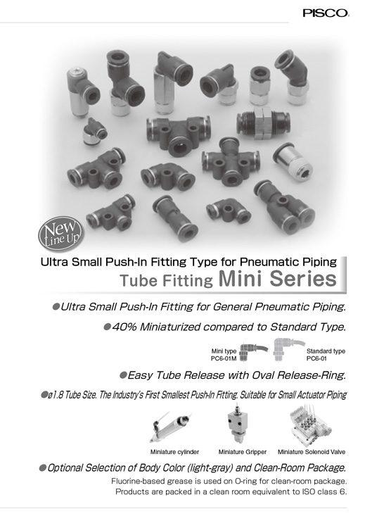 Pisco-Tube Fitting Mini Catalog