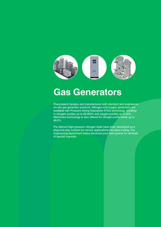 Pneumatech-Gas Generators Catalog