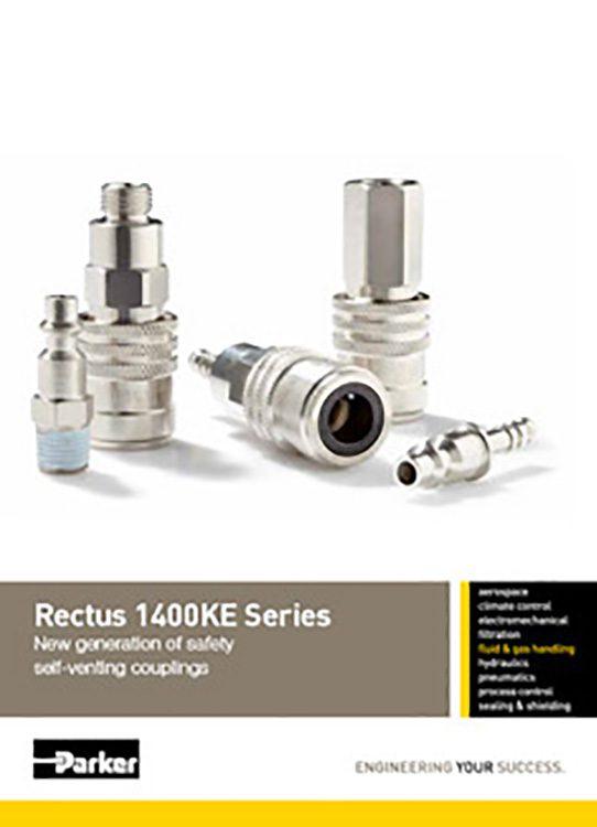 Rectus-1400KE Self Venting Couplings Catalog