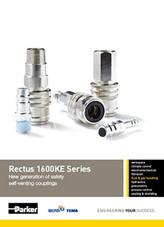 Rectus-1600KE Self Venting Couplings Catalog