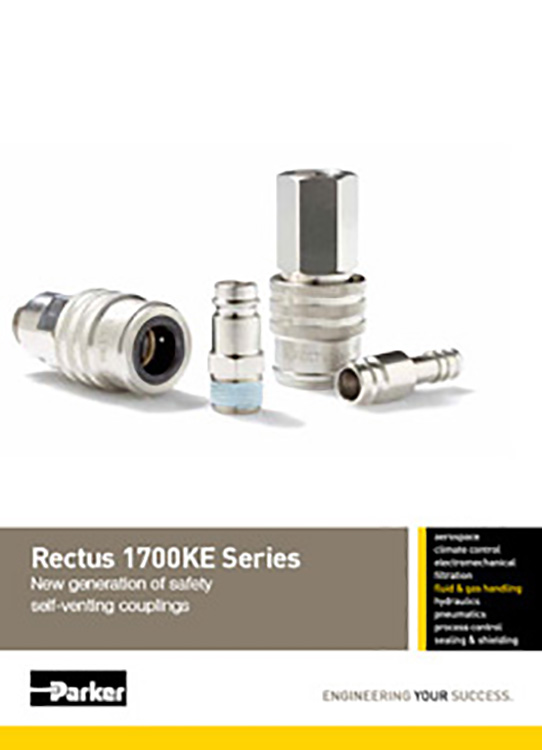 Rectus-1700KE Self Venting Couplings Catalog