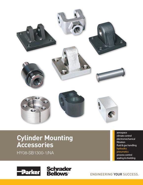 Schrader Bellows-Cylinder Mounting Accessories Catalog