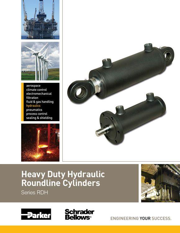 Schrader Bellows-Heavy Duty Hydraulic Round Line Cylinders Catalog