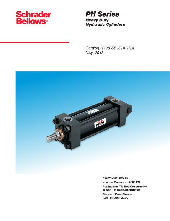 Schrader Bellows-PH Series Cylinders Catalog