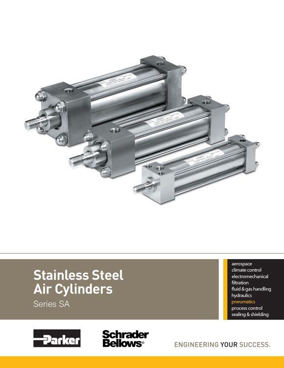 Schrader Bellows-Stainless Steel Cylinders Catalog