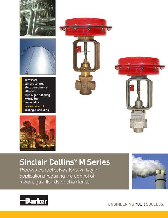 Sinclair Collins-M Series Control Valves Catalog