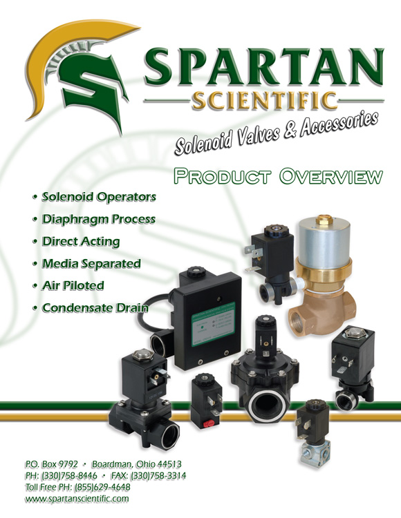 Spartan Scientific-Product Overview Catalog