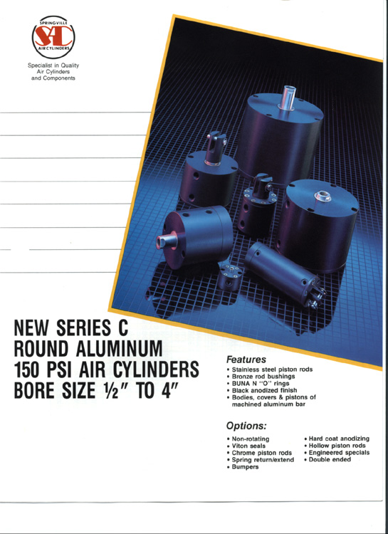 Springville-C Series Catalog