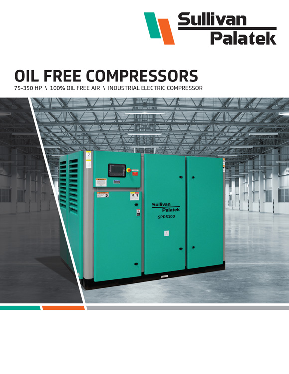 Sullivan Palatek-Oil Free Compressors Catalog
